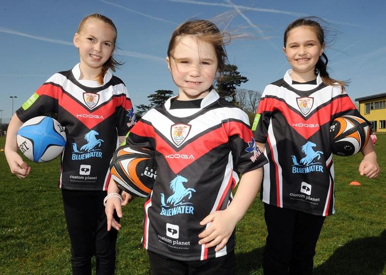 Dartford Valley RFC Childs kit