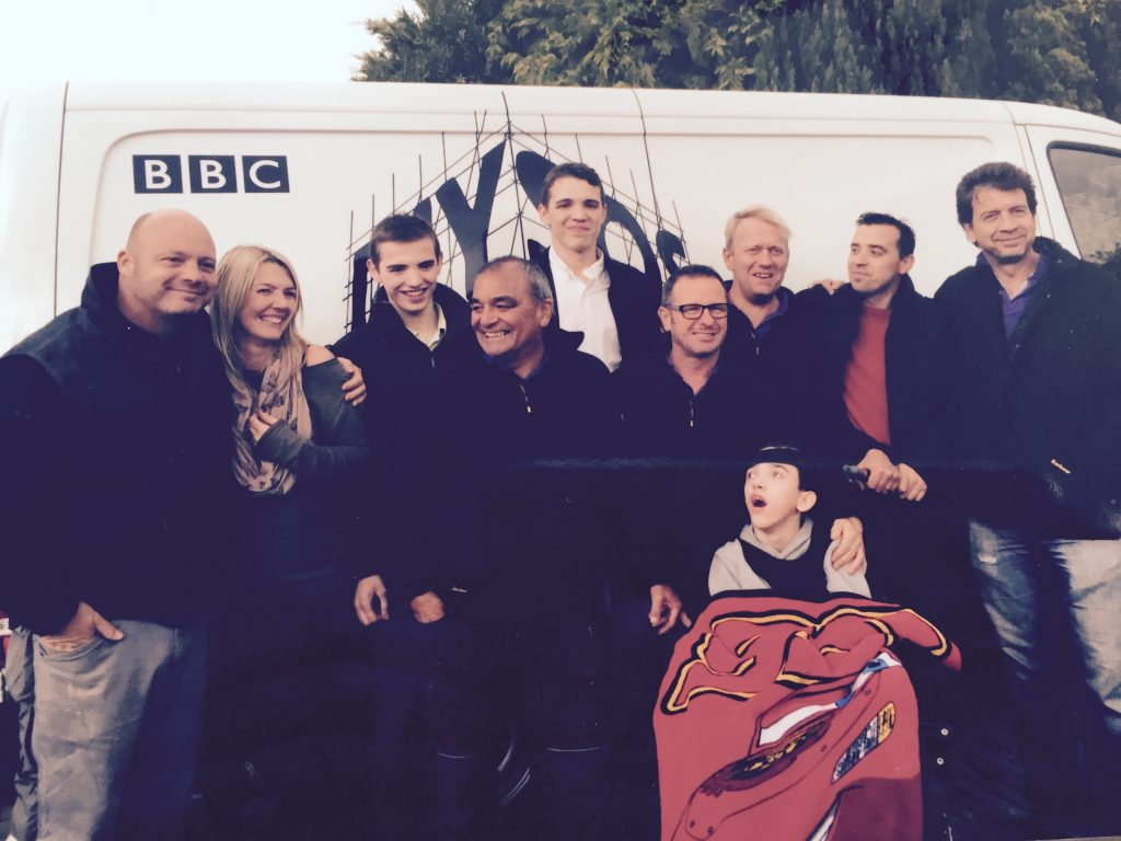 Family with DIY SOS